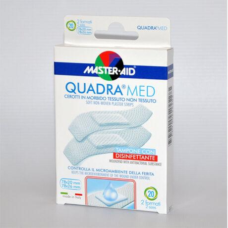 Master Aid Quadra med sensitive sebtapasz különböző 20x