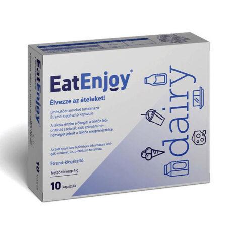 EatEnjoy Dairy emésztőenzimek kapszula 10x
