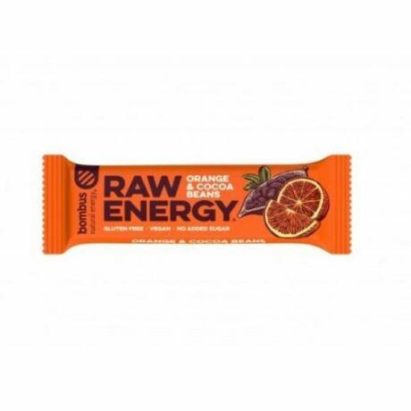 Bombus Energia szelet narancs-kakaóbab (50g)