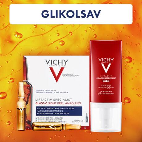 Vichy Glikolsav Duo arcápoló csomag