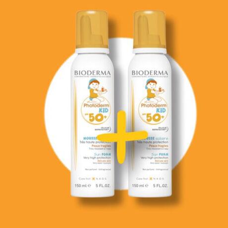 Bioderma Photoderm KID - hab spray 1+1 csomag