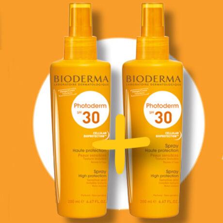 Bioderma Photoderm Spray SPF30 - 1+1 csomag