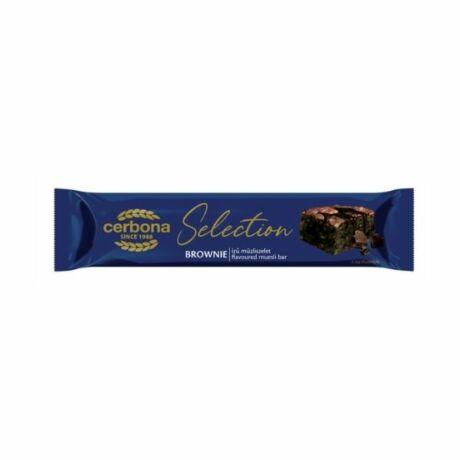 Cerbona Selection müzliszelet Brownie (22g)