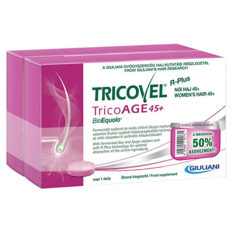 Tricovel Tricoage 45+ Duo Pack 2x30x