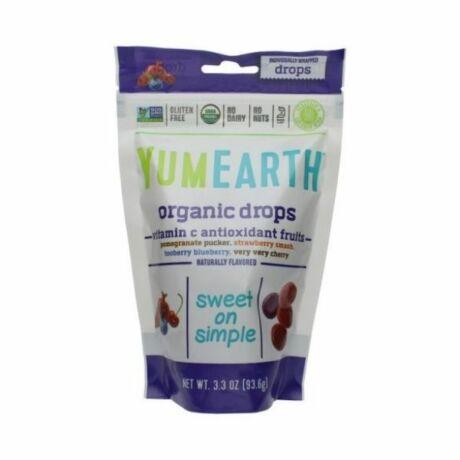 YumEarth organikus keménycukorka (93,5g)