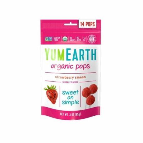 YumEarth organikus nyalóka, epres 14x (85g)
