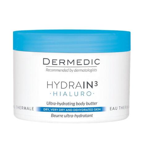 Dermedic Hydrain Ultra-hidratáló testvaj hialuronsavval 225ml