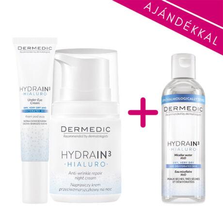 Dermedic Hydrain³ Hidratáló éjszakai csomag