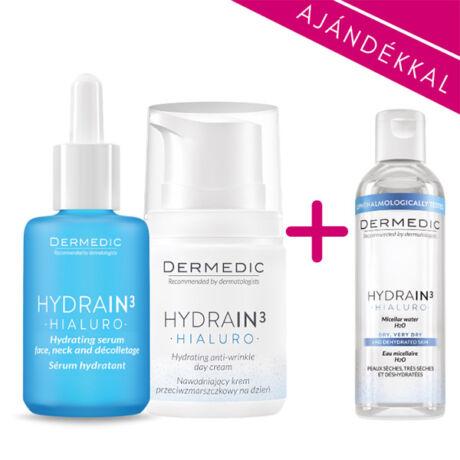 Dermedic Hydrain³ szérum csomag