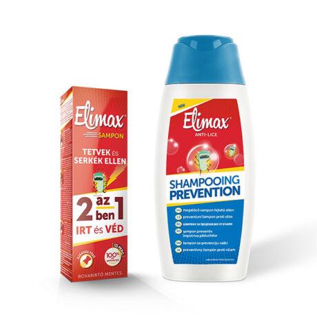 Elimax sampon megelőzésre+írtó sampon csomag