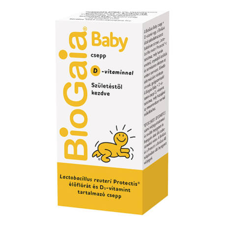 BioGaia Protectis Baby probiotikum csepp + D3 vit. 5ml