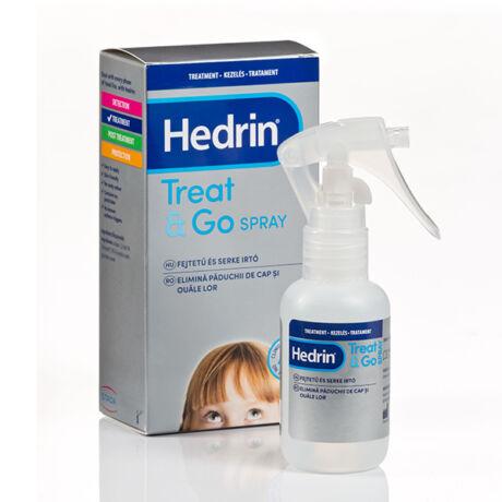 Hedrin Treat and Go tetűírtó spray