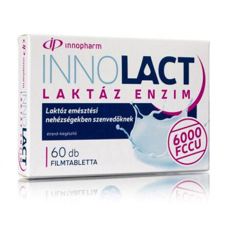 Innopharm Innolact laktáz enzim 6000 FCCU filmtabletta 60x