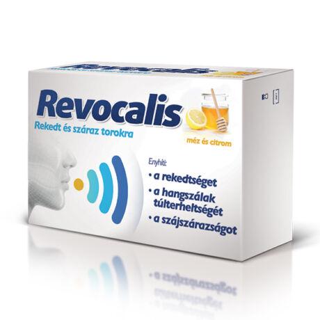 Revocalis  mézes-citromos szopogató tabletta