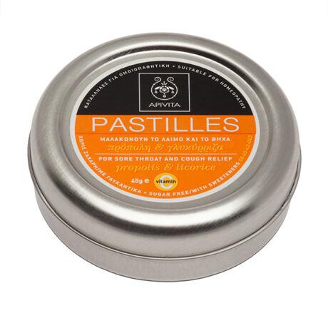 Apivita édesgyökér-ánizs ízű torokpasztilla