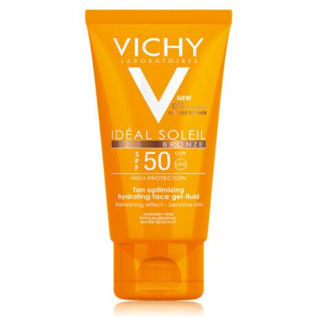 Vichy Idéal Soleil napozó gél FF50 arcra bronz (50ml)