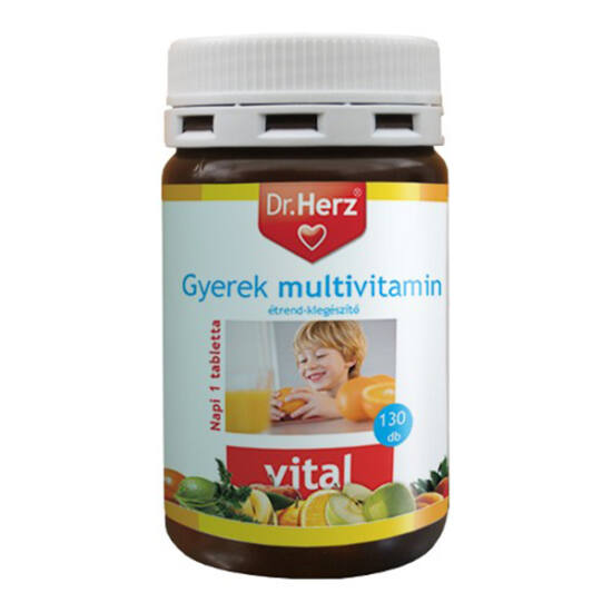 Dr.Herz Gyermek multivitamin kapszula (130x)