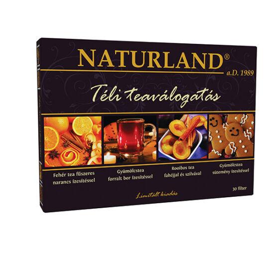 Naturland Téli tea válogatás 30x2g