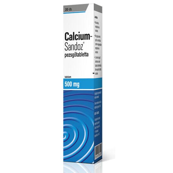Calcium-Sandoz pezsg?tabletta 20x