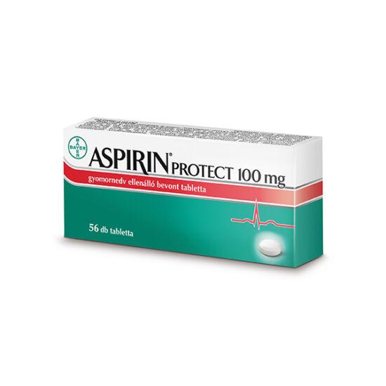 Aspirin Protect 100 mg gyomornedv ellená.bev.tabl. (56x)