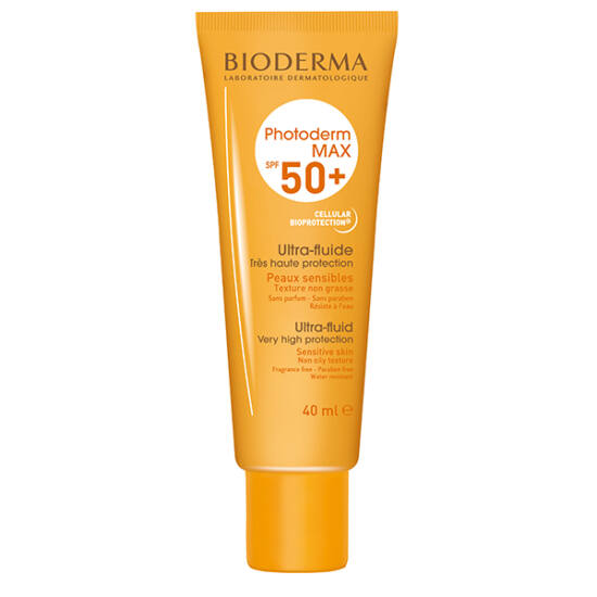 BIODERMA Photoderm MAX Aquafluide SPF 50+ színtelen 40ml