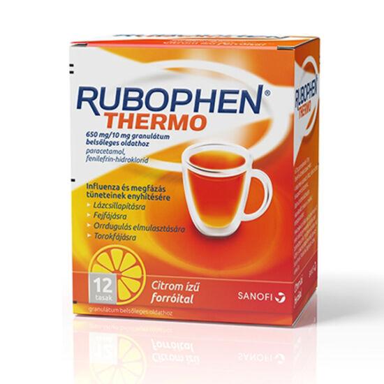 Rubophen Thermo 650mg/10mg gran. bels.oldathoz 12x