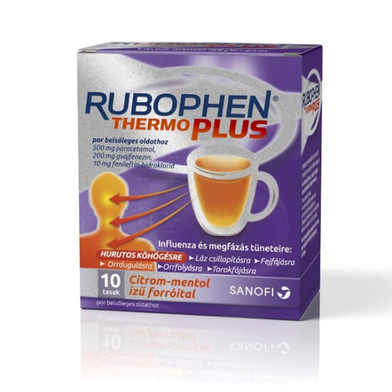 Rubophen ThermoPlus por bels?leges oldathoz (10x)