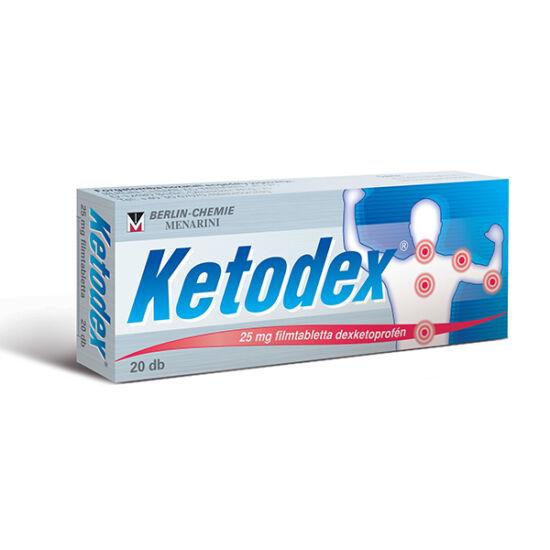 Ketodex 25 mg filmtabletta 20x