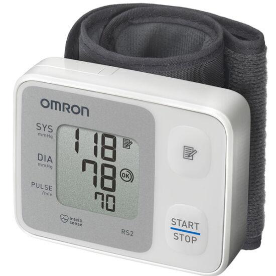 Vérnyomásmér? automata csuklóra OMRON RS2