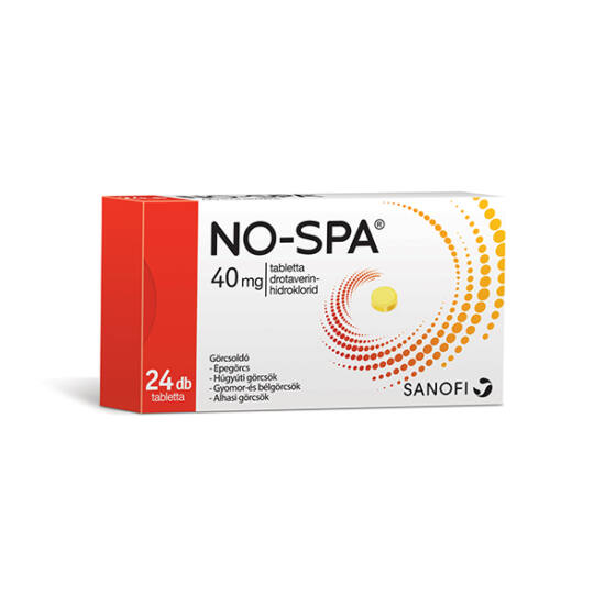 No-Spa 40 mg tabletta 24x