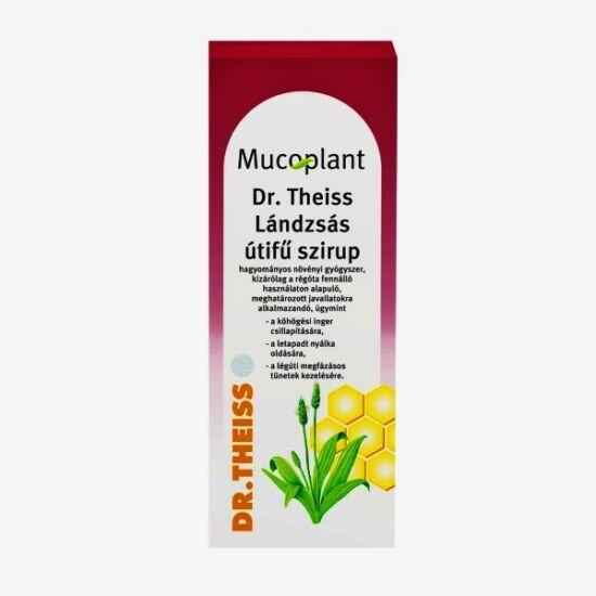 Mucoplant Dr.Theiss lándzsás utif? szirup GYÓGYSZ. (250ml)