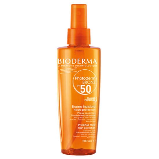Bioderma Photoderm Bronz Olaj SPF50/UVA28 200 ml