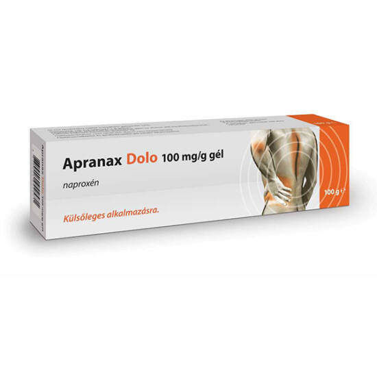 Apranax Dolo 100 mg/g gél 100g