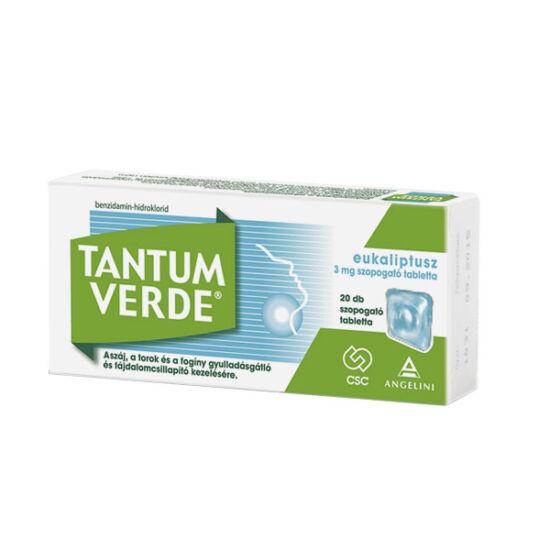 Tantum Verde eukaliptusz 3 mg szopogató tabletta 20x