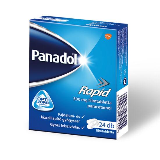 Panadol Rapid 500 mg filmtabletta 24x