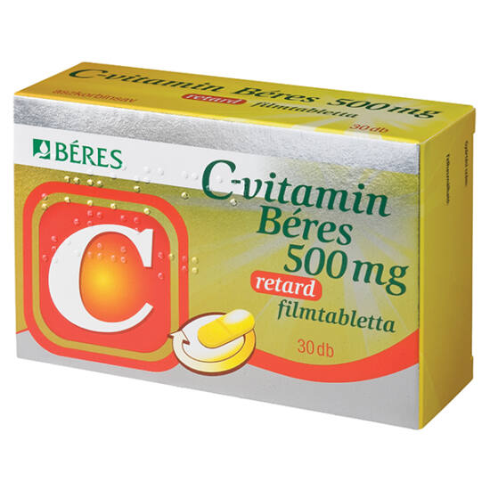 C-vitamin Béres 500 mg retard filmtabletta 30x