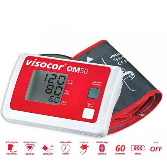 Visocor vérnyomásmér? OM50 (univerzális mandzsettával)