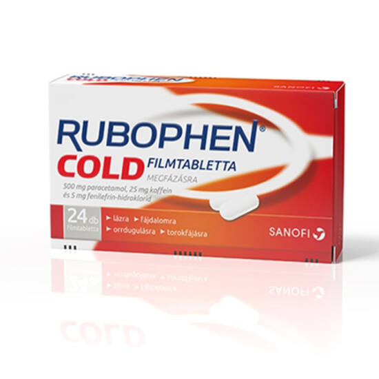Rubophen Cold filmtabletta 12x