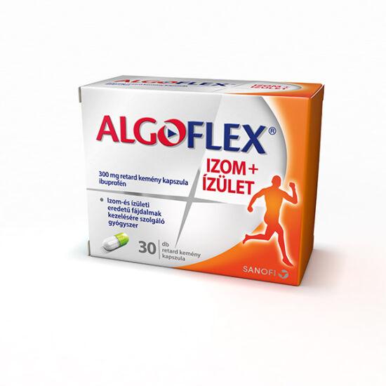 Algoflex Izom+Ízület 300mg retard kemény kapszula (30x)