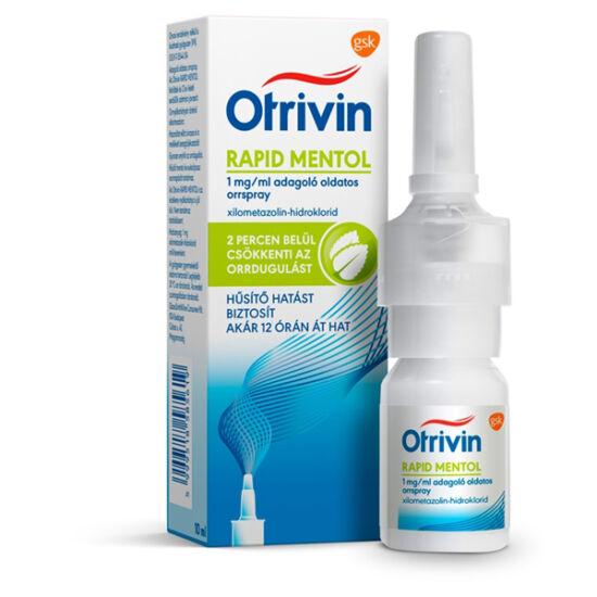 Otrivin Menthol 1 mg/ml adagoló oldatos orrspray