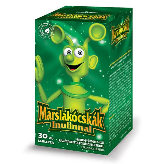 Walmark Marslakócskák Inulin erdeigyüm. íz? rágót. 30x