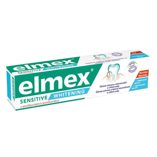 Elmex fogkrém Sensitive White 75ml