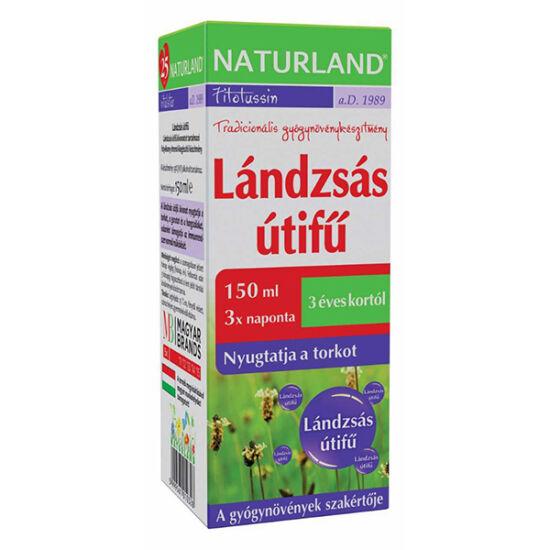Naturland Lándzsás útifű szirup 150ml