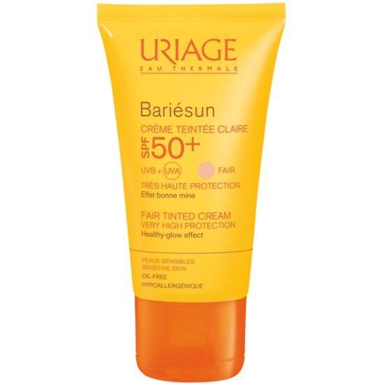 Uriage Bariésun arckrém SPF50+ színezett világos (50ml)