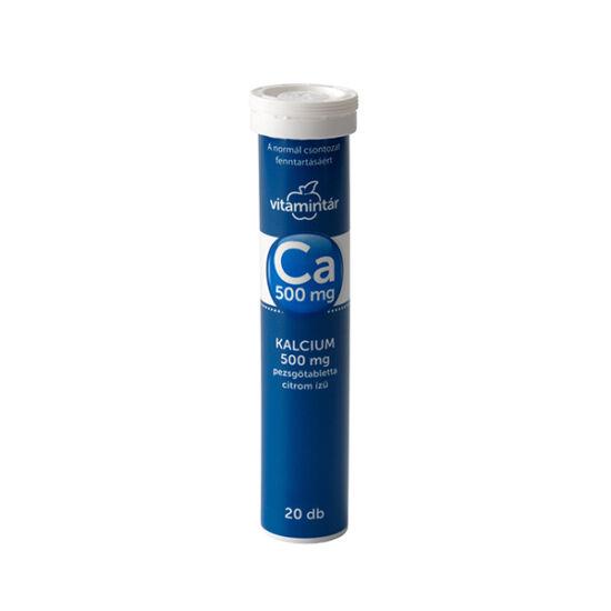 Vitamintár Kalcium 500 mg pezsg?tabletta