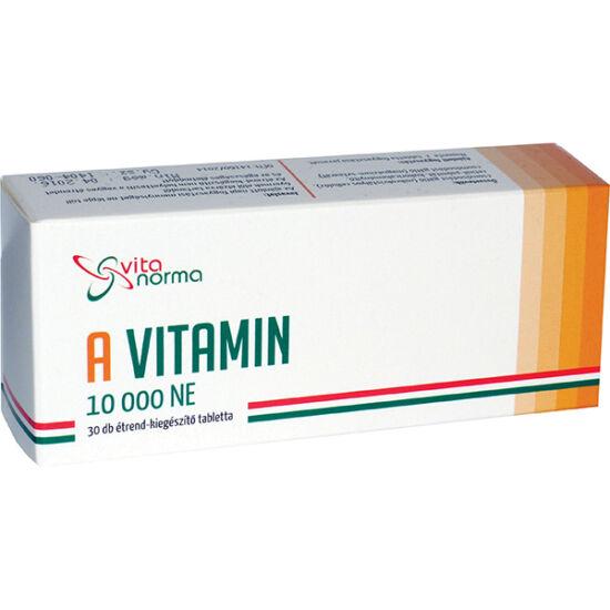 Vitanorma A vitamin 10000 NE tabletta