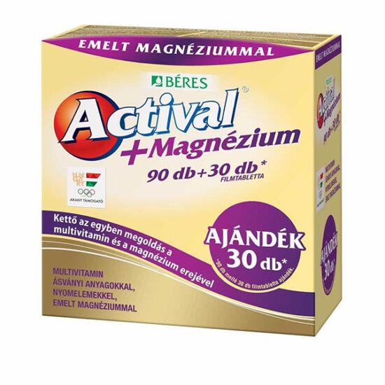 Actival + Magnézium filmtabletta 90+30x