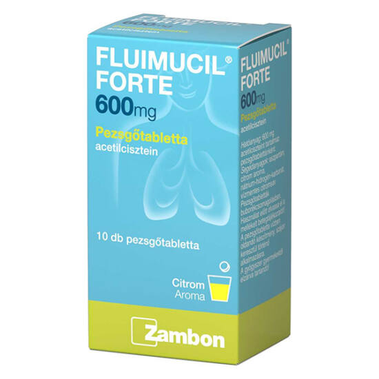 Fluimucil 600 mg pezsg?tabletta (10x)