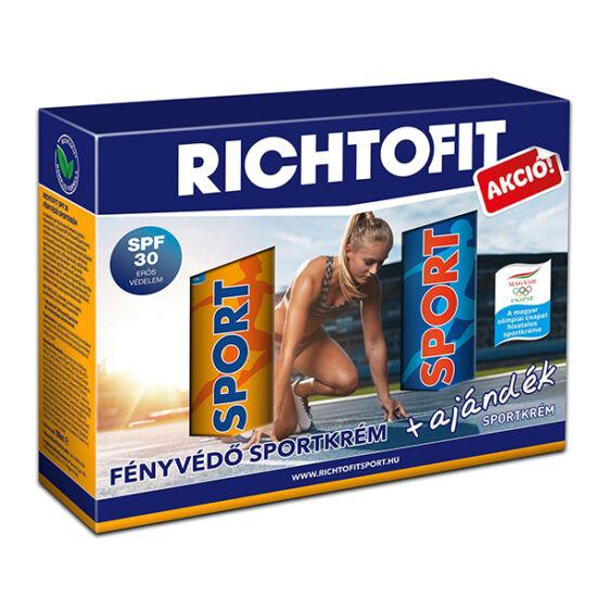 Richtofit Sportkrém fényvédő SPF 30 + 125g