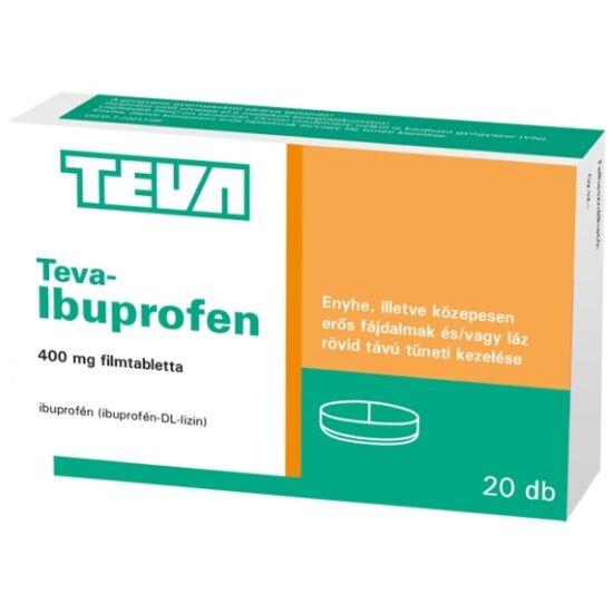 Teva-Ibuprofen 400 mg filmtabletta